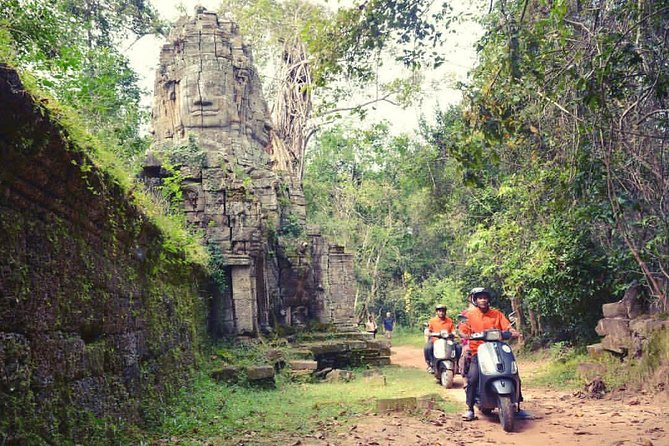 Ancient Angkor Temple Vespa Tour
