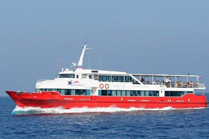 Koh Phangan to Ao Nang by Seatran Discovery Ferry, Coach and Shared Minivan