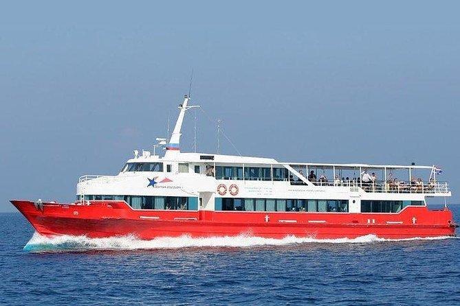 Koh Phangan to Koh Lanta by Seatran Discovery Ferry, Coach and Shared Minivan