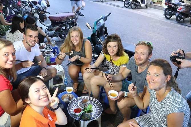 PRIVATE HANOI STREET FOOD TOUR with EXPERT LOCAL GUIDE BY SCOOTERS photo 4
