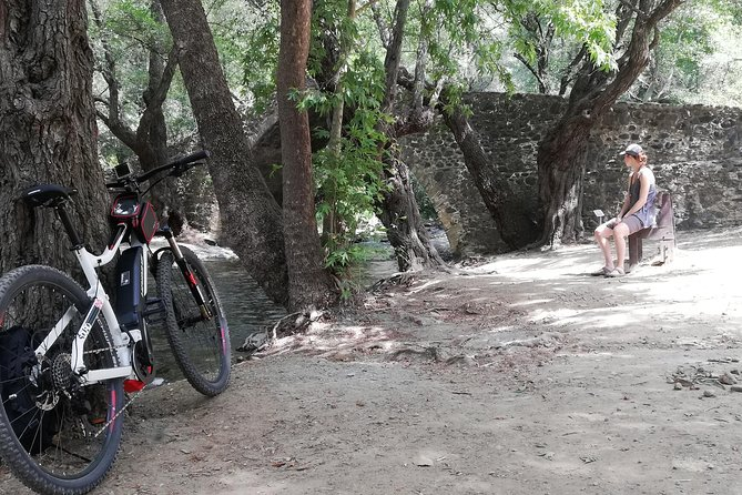Explore Paphos forest with e-mountain bikes