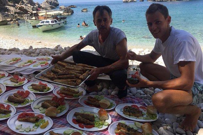 Fish Picnic in Ulcinj Boat Suzana