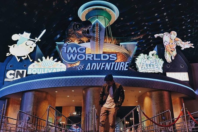 IMG Worlds Of Adventure Entrance Ticket with Transfers