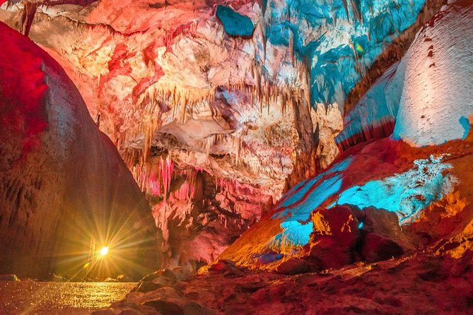 Full day private cave tour in Sataplia reserve and Prometheus Cave from Tbilisi