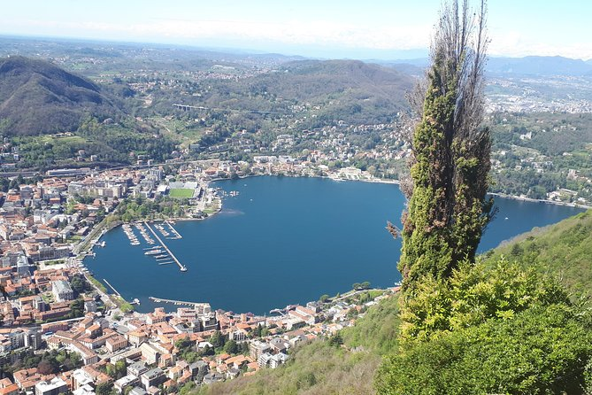 Lake Como and Brunate. Departure from Milan