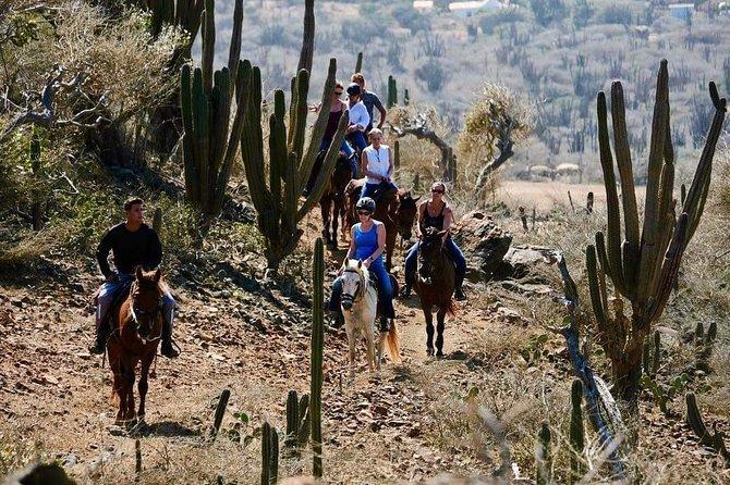 Arikok National Park Rancho Loco Horseback Tour on Aruba