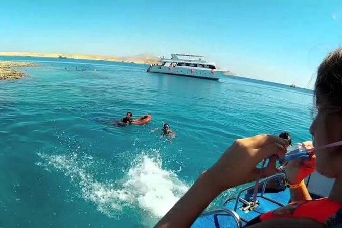 Snorkel tiran island by boat from dahab