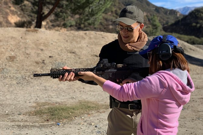 Shoot Real Guns with a Certified Firearm Instructor
