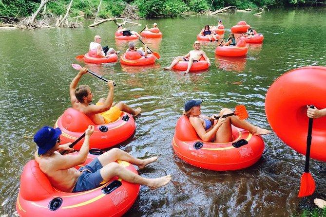 River Tube Adventure op de Catawba-rivier