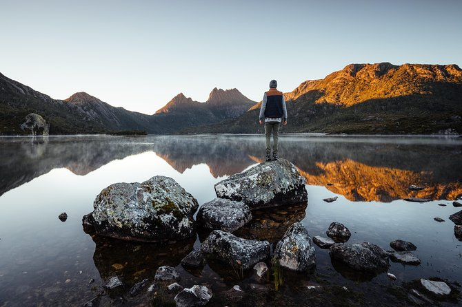 Guided Shore Excursion Burnie: Cradle Mountain & Sheffield Town