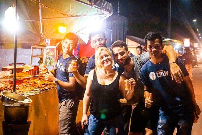 Siem Reap Night Market Street Food Tour – Half Day