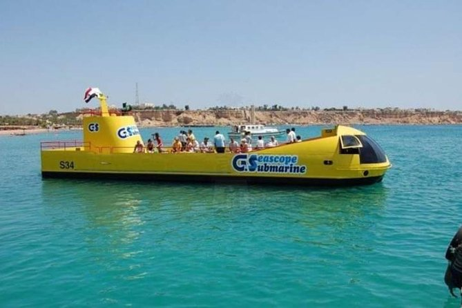 submarine Sea scope trip in hurghada