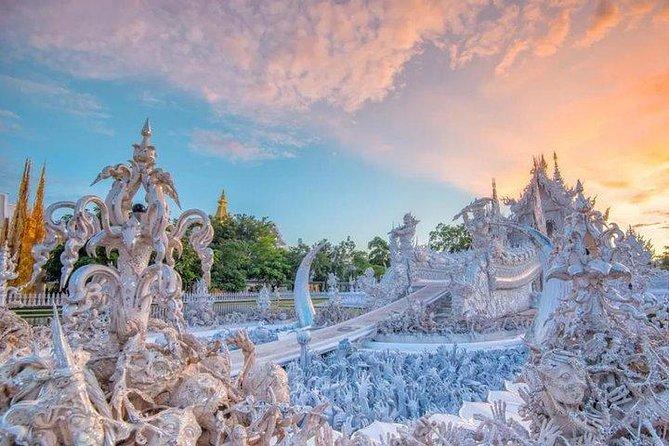 De Chiang Mai: Excursão de um Dia ao Templo Branco e Triângulo Dourado