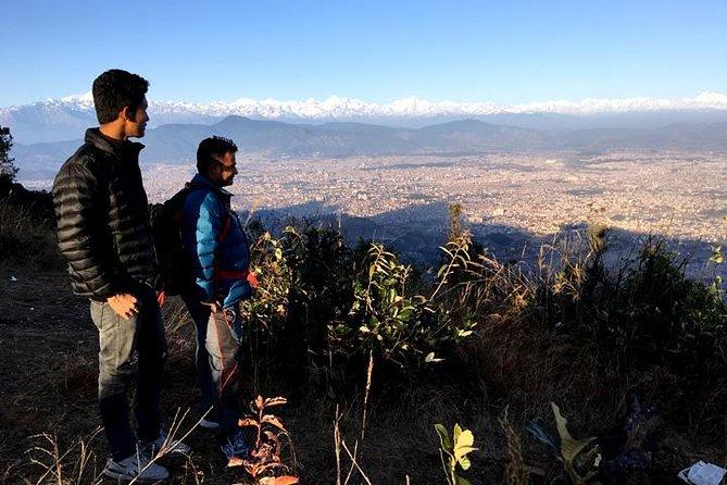 Kathmandu Best Scenic Day Wanderung zum Champa Devi Hill