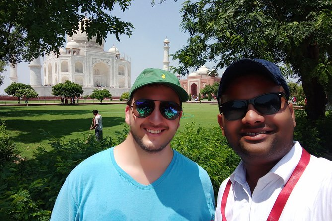 Agra Tajmahal and Agra fort tour in same day return