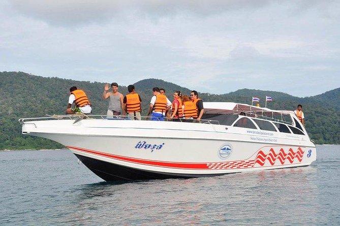 Phuket to Koh Kradan by Satun Pakbara Speed Boat