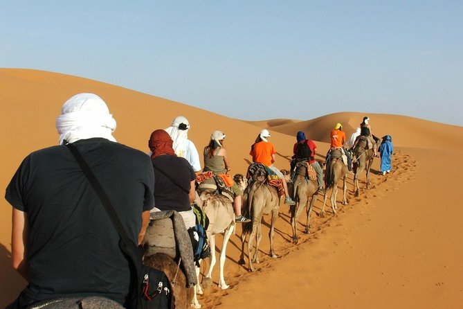 4 Days trip from FEZ to MARRAKECH, spending a night in MERZOUGA and TODRA GORGES