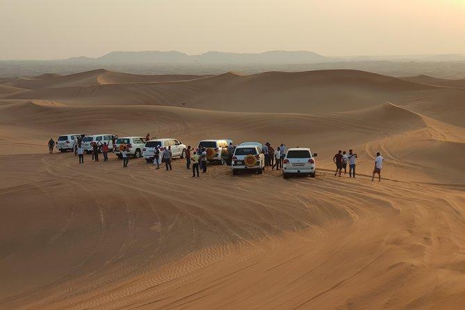 Private Desert Safari with Camel Ride and BBQ in Dubai