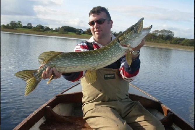 Pike shore fishing. Lough Corrib, Connemara .English/French speaking Ghillie.