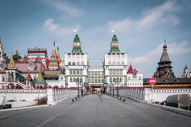 Izmaylovo Kremlin and Izmaylovo Estate (4 or 6 hours)