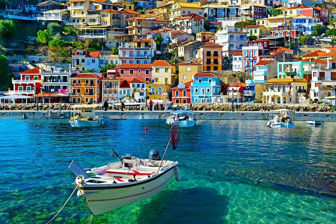Parga & Sivota Islands Blue Lagoon Cruise with BBQ