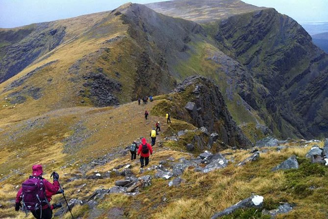 Hill Walking. Connemara mountain ranges. Guided. 6 hours.