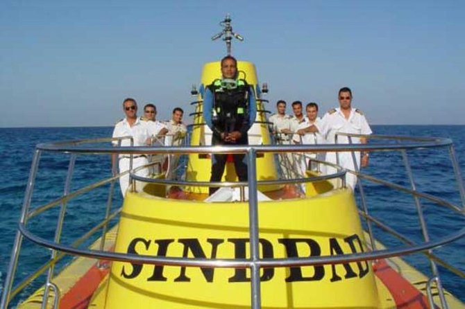 Sindbad submarine trip in hurghada
