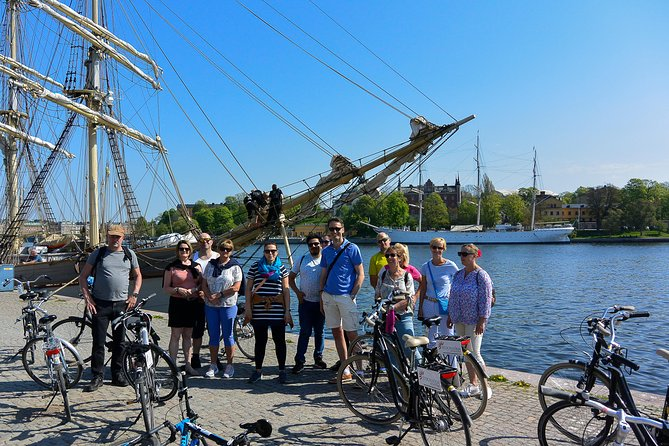 Stockholm at a Glance Bike Tour