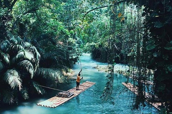 Authentic Jamaican Bamboo Rafting Tour from Falmouth photo 4