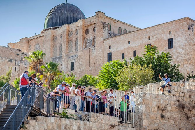 Tour of the Jerusalem Archaeological Park by the Western Wall