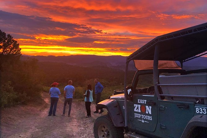 Zion Sunset Jeep Tour