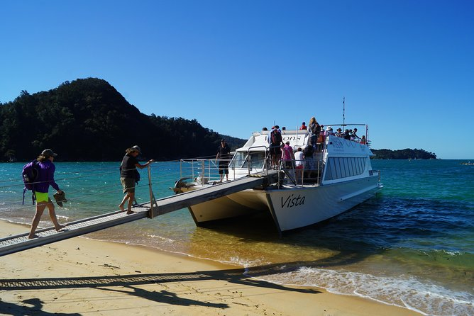 Catch a Water Taxi into Abel Tasman National Park