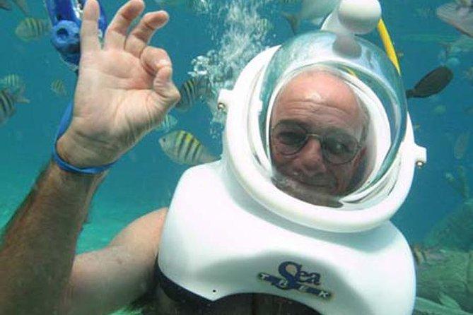 Underwater Helmet Diving Experience in San Miguel de Cozumel