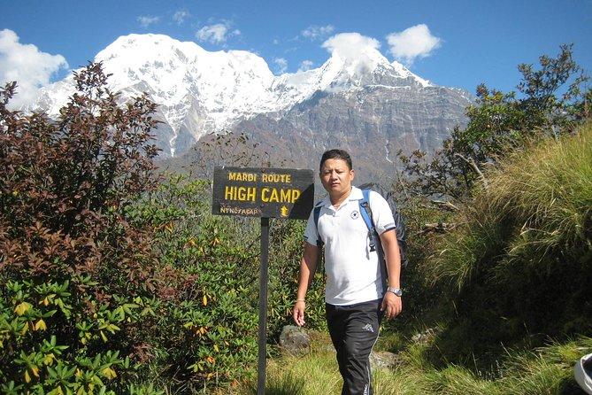 5 Days Mardi Himal Base Camp Trek