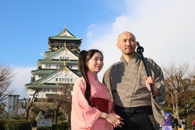 Osaka Half-Day Bus Tour with Samurai