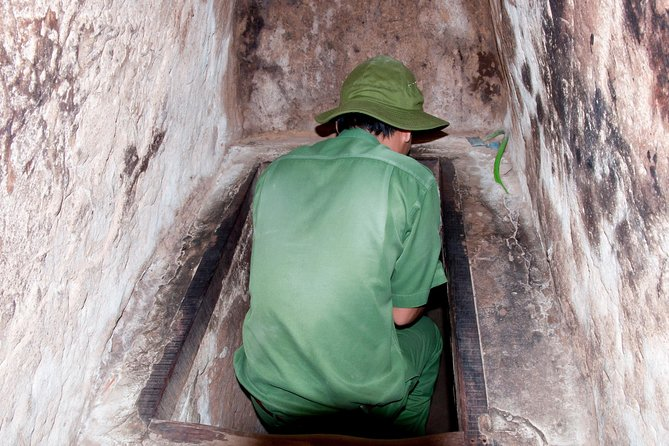 Morning or Afternoon Guided Tour Cu Chi Tunnels