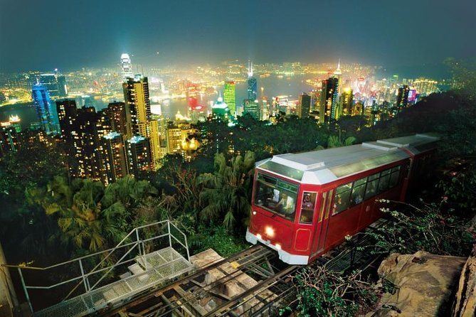 E-Ticket: Peak Tram Round Trip and Sky Terrace