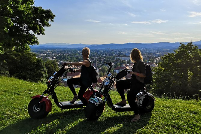 Harley E-scooter Ljubljana Urban Tour (small group)