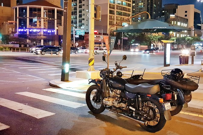 Watching Seoul on a sidecar that offers a different perspective and experience