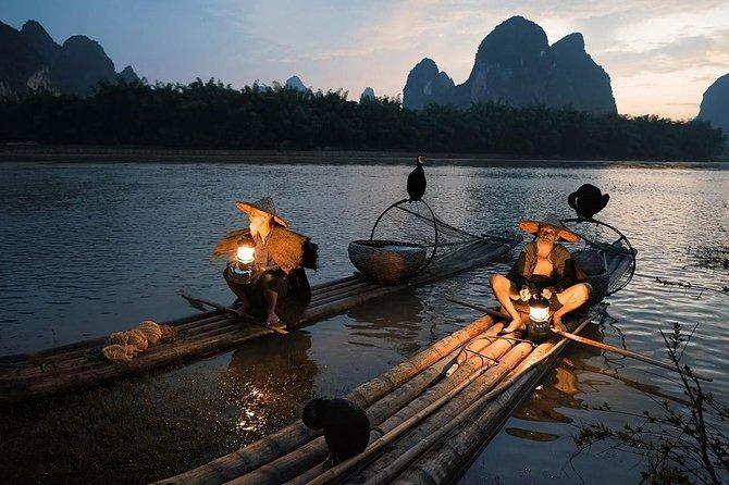 Guilin to Yangshuo Li River Bamboo Cruise