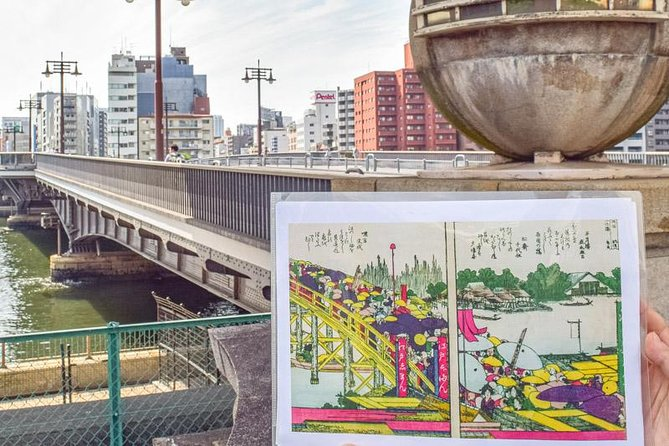 Private Tour - Enjoy Ukiyoe of Katsushika Hokusai and the Edo times he did!