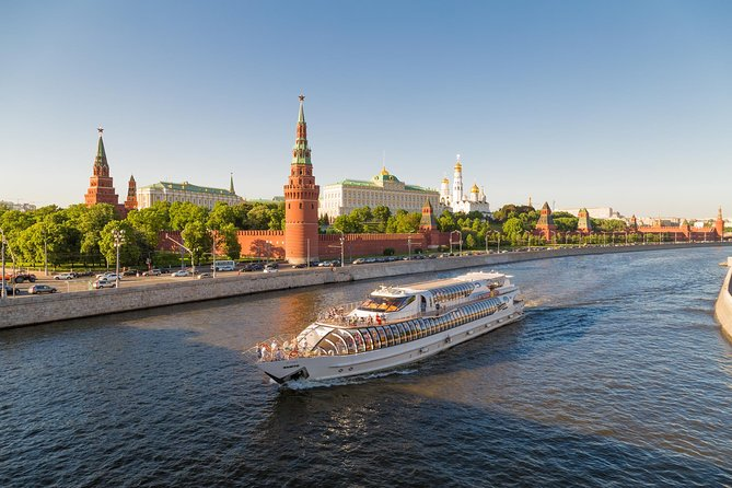 Moscow River on Radisson Yacht Tour Ticket