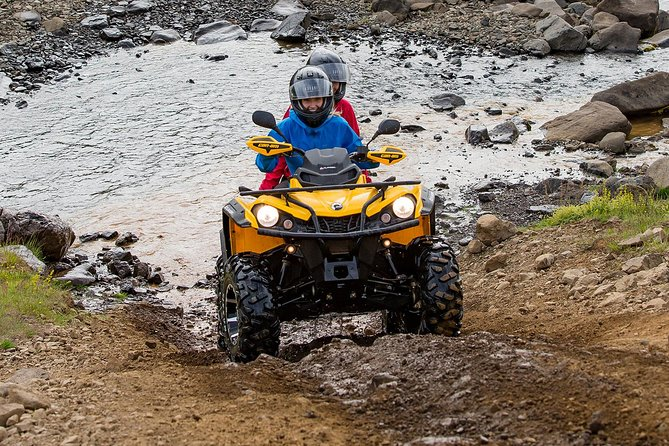 1hr ATV Adventure & Caving from Reykjavik
