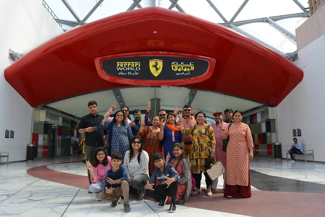 Ferrari World Theme Park Abu Dhabi