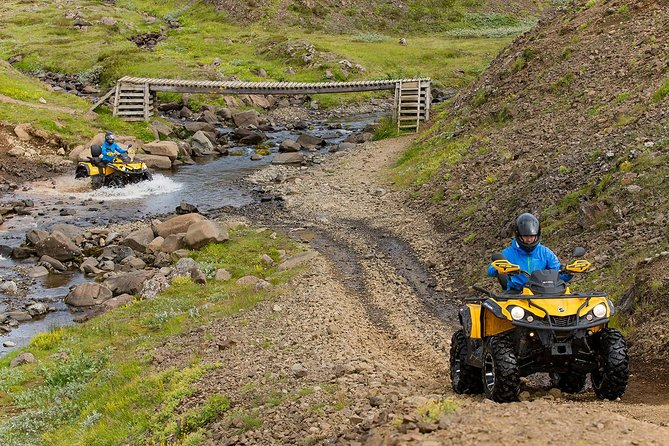 1hr ATV Adventure & Helicopter Adventure Combination Tour from Reykjavik