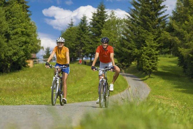 Excursão de bicicleta pelo Castelo de Karlstejn saindo de Praga