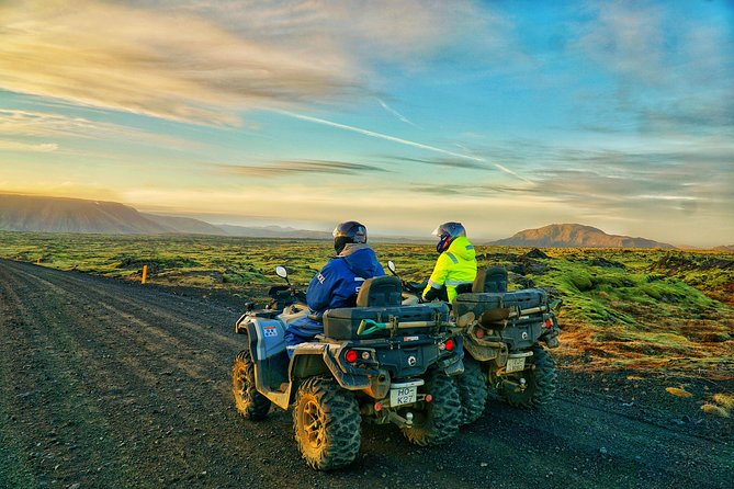 7hr ATV Volcano and Lava Experience Quad Tour from Reykjavik
