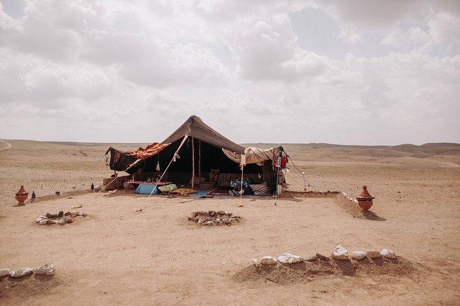Lunch in the Agafay desert