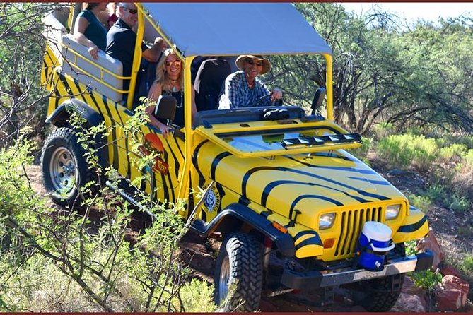 African Ambush Jeep Tour Plus Horseback Ride and Lunch in Camp Verde