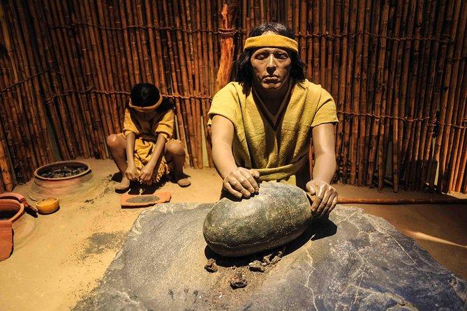 Yacimiento arqueológico Batan Grande y Museo Nacional de Sicán desde Chiclayo